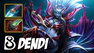 B8.DENDI KING of PAIN - HARD GAME - Dota 2 Pro Gameplay