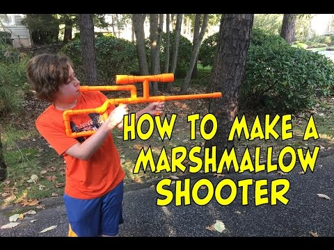 How To Make A PVC Marshmallow Shooter
