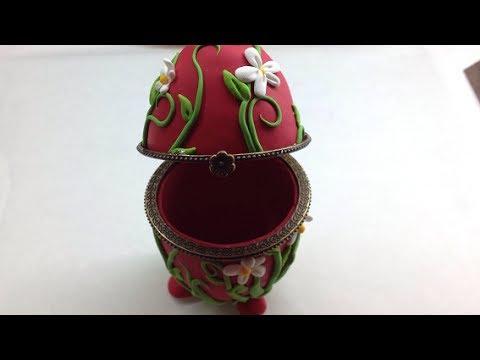 Polymer clay/Fimo Egg Box