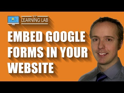 Easily Embed Google Forms In WordPress Or Any Other Type of Website