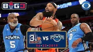 Cuttino Mobley goes OFF, Big Baby Davis game-winner | Power defeats 3's Company | Big 3 on CBS