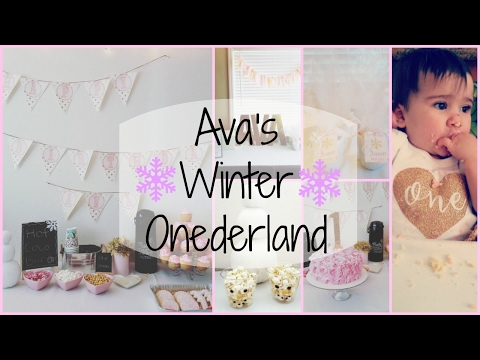 Winter Onederland | Ava is One!!!