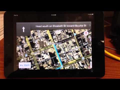 Google Maps Finally On iPad Mini