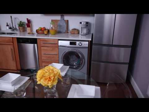 Features Overview - Haier Washer/Dryer Combo HLC1700AXS & HLC1700AXW