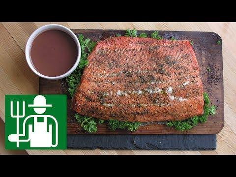 Cedar Plank Salmon   Keto FAT Sauce   Low Carb Salmon Recipe  