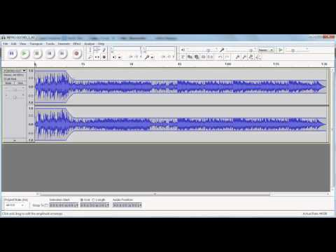 Creating professional podcast intros using Audacity and the Envelope Tool
