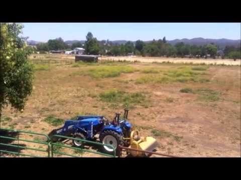 Mowing the Horse Pasture