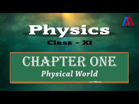 Physics Class XI | Chapter-1 | Physical World | Demo Video (Hindi)