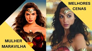 Melhores cenas da Mulher Maravilha(Wonder Woman) no Filme Liga da Justiça 2017(Justice League)