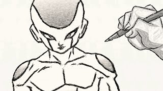Comment Dessiner Le Corps De Goku Les Muscles Dragon Ball Z