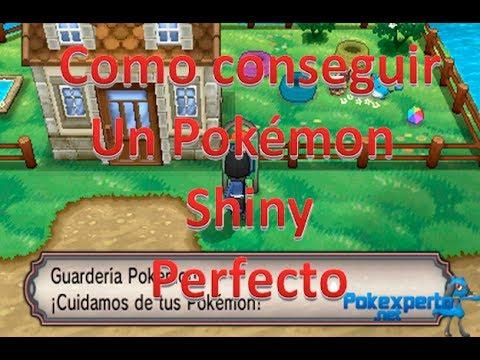 Pokémon X/Y: Como conseguir un Pokémon shiny perfecto.