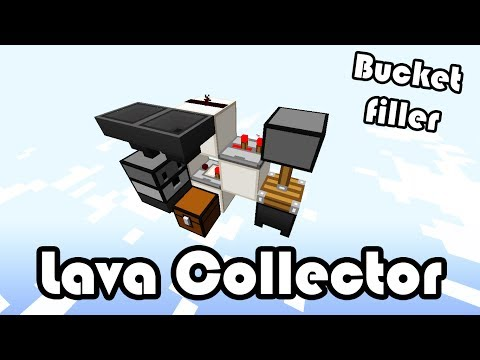 Bucket Filler (Lava Collector) Minecraft (1.8)