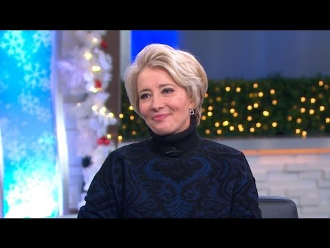Emma Thompson Says Saving Mr. Banks Character is 'Best Role She's Ever Had'