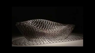 3D printed lounger chair by 3D Systems