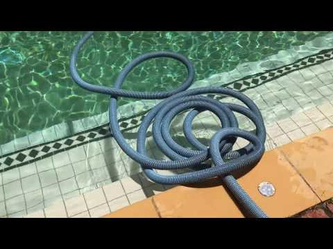 #LifeHack Easily Coil any hose. Pool Vacuum hose or a garden hose this works brilliantly for all