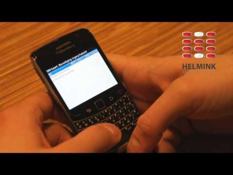 BlackBerry Bold 9700 (OS 5) Sim pincode aanpassen