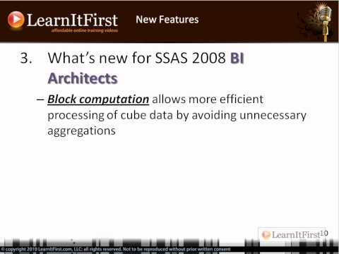 New Features in SQL Server 2008 Analysis Services