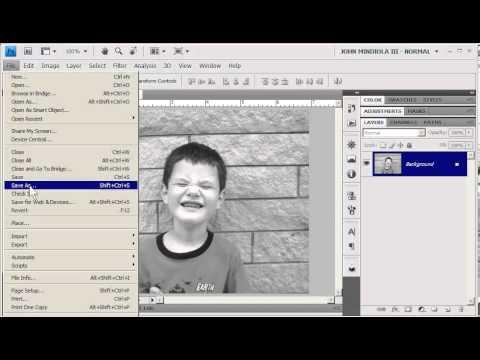 Photoshop 24-Bit Color, 8-Bit Grayscale, And Bitmap Lineart #photoshop #colormode