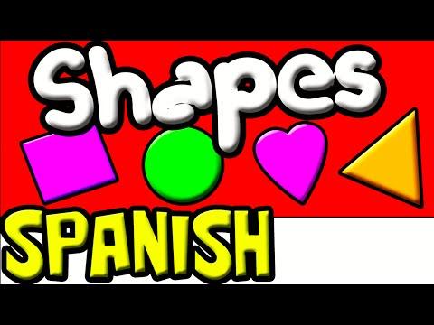 Spanish Shapes   Spanish for Kids   Preschool Spanish   Learn Spanish   Spanish Baby, Children