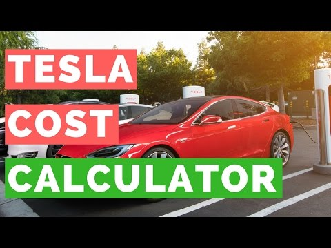 What Does Charging a Tesla Cost? Tesla Model S, Model X, and Model 3 Charging Calculator