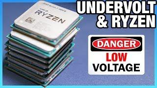 AMD Ryzen 3000 Undervolting Offset vs. Override | Vcore Voltage