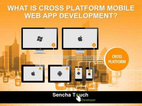 Cross platform mobile web app development