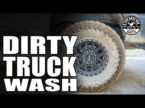 How To Wash Dirty Off Road Trucks! - Ford F250 - Chemical Guys Car Care