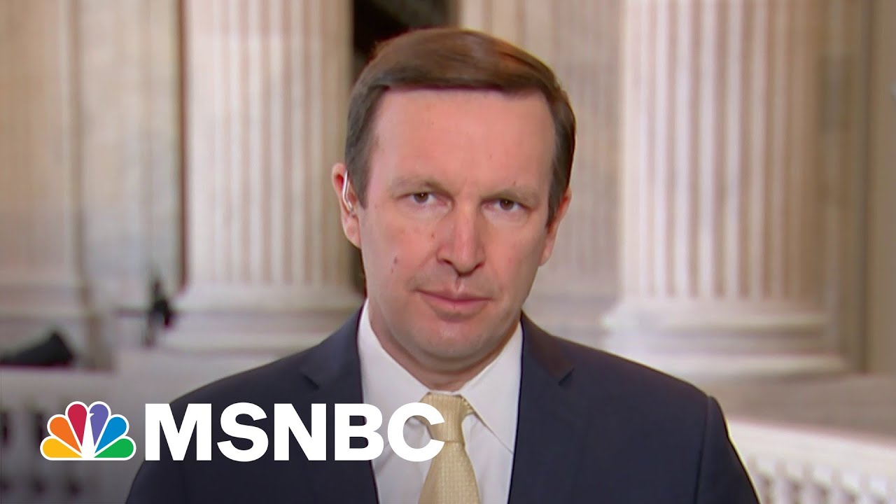 Sen. Chris Murphy: Series Of Escalating Cyber Attacks 'Not Good For Us Or Russia' | MSNBC
