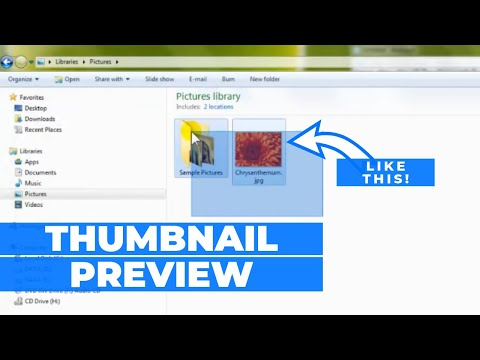 How To Enable/Disable Thumbnail Preview in Windows 7