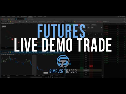 Day Trading Futures - TDAmeritrade Thinkorswim and Infinity Futures