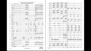 To purchase or for more info go to http://goo.gl/L1Ocao MusicWorks - Grade 5 Commissioned for the University of Akron Symphonic Band, this dynamic work celebrates 100 years of music composed for the Olympic Games. Based on three primary themes, the first is a brilliant fanfare that serves as an introduction as well as a unifying link throughout. Second is the 1896 Olympic Hymn (music by Spyros Samaras) set in a beautiful lyric style which builds to a magnificent climax juxtaposed with the opening fanfare. The final section presents a new version of Mr. Curnow