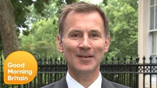 Jeremy Hunt Remains Confident He Can Win Conservative Leadership Vote | Good Morning Britain