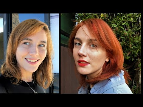 Perfecting Inside out hair color vibrant Red and Orange - Preview