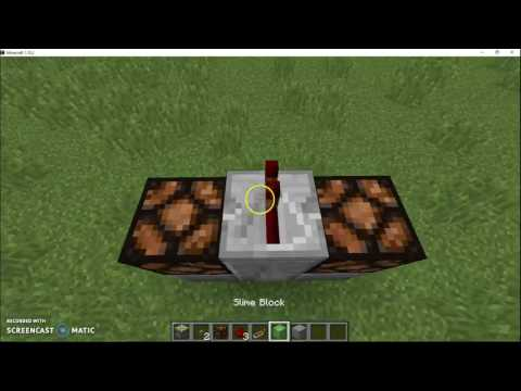 how to make a diving board on minecraft!