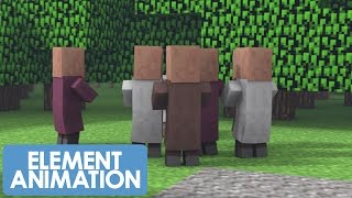 MinecraftShorts: WOOLY THE TALKING SHEEP 2 (Animation)