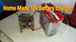 How to make 12v battery charger at home.(in hindi)