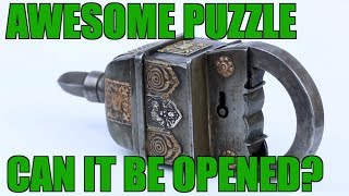 FOUR Key Puzzle Lock Review   PuzzleMaster