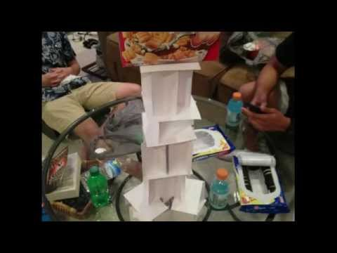 Index Card Tower