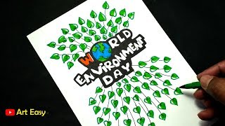 Environment Poster Drawing Easy