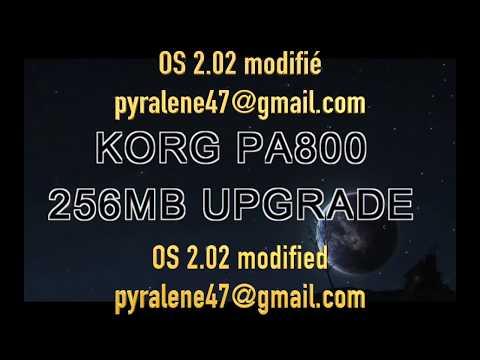 KORG PA800 ram 256MB