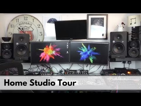 Small home Studio Tour 2018