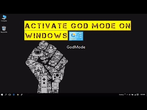 How to enable GodMode in Windows 7,8,8.1,10
