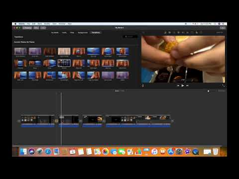 HOW TO ENABLE OR DISABLE AUTOMATIC TRANSITIONS IN IMOVIE (MAC)