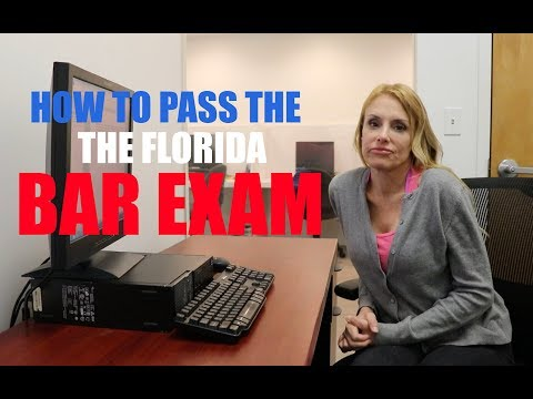 I RAISED MY SCORE 31 POINTS, AND PASSED THE FLORIDA BAR EXAM! FLORIDA BAR PREP COURSE!