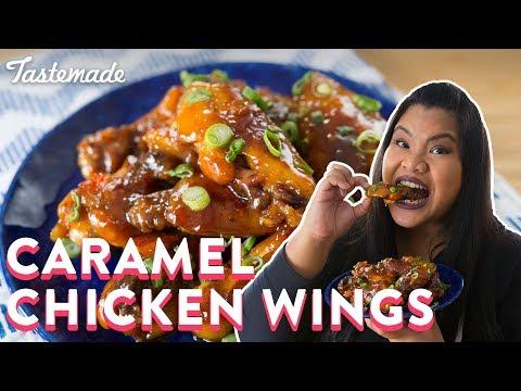 Vietnamese Caramel Chicken Wings | Good Times With Jen