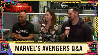 Download Behind the Scenes of the game Marvel's Avengers LIVE @ SDCC 2019! Video