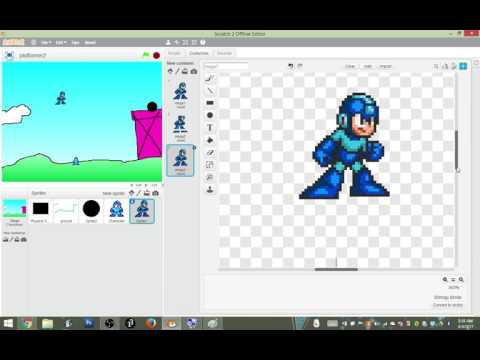 Scratch Platformer Part 2: Character Animations