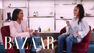 ICY GRL Saweetie Shops for the Perfect Pair of Heels | Heel Hunters | Harper