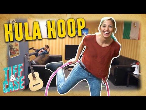 Tiff Can't Hula Hoop?!