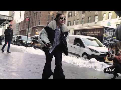 New York Fashion Week Fall/Winter 2017 Street Style Day 2